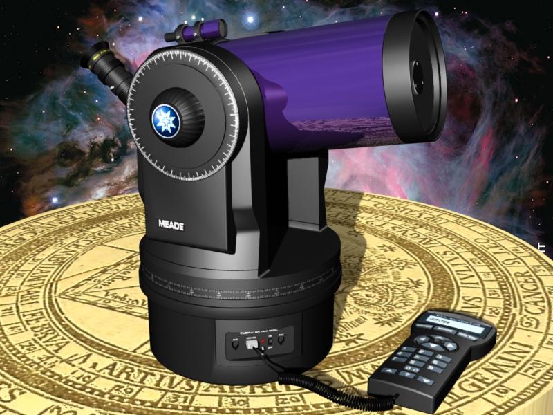 Ma première 3D avec AUTOCAD Telescope%20etx